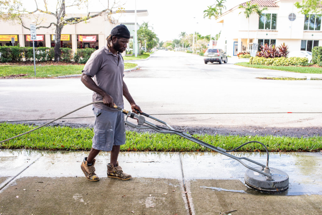 Pressure Cleaning Services Page